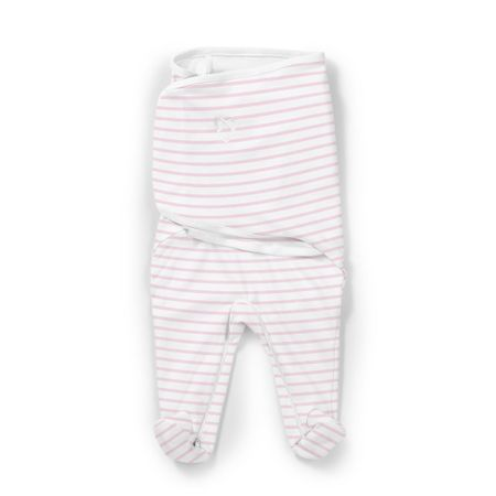 Summer Infant Otulacz z nóżkami SwaddleMe Footsie różowe paski