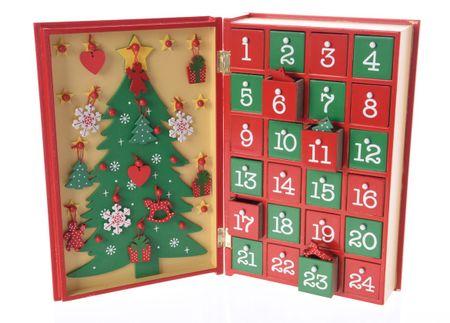 Kaemingk dekoracja świąteczna Kalendarz Adwentowy
