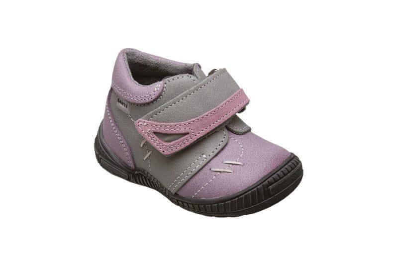 edbfbcb2cc4 SANTÉ Zdravotní obuv dětská N ROMA 101 19 76 56 fialová