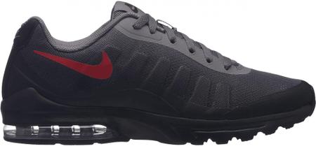 Nike moški supergi Air Max Invigor Print/Gunsmoke/University Red-Black, 41