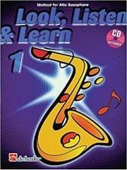KN Look, Listen & Learn 1 - Alto Saxophone Škola hry na saxofon