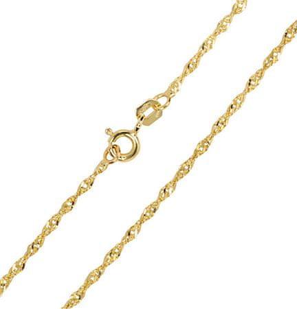 b4292cf5a Brilio Zlatý dámsky náramok 261 115 00197 - 1,15 g žlté zlato 585 ...