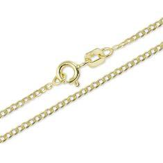 Brilio Jemný řetízek ze žlutého zlata 42 cm 271 115 00202 - 1,70 g zlato žluté 585/1000