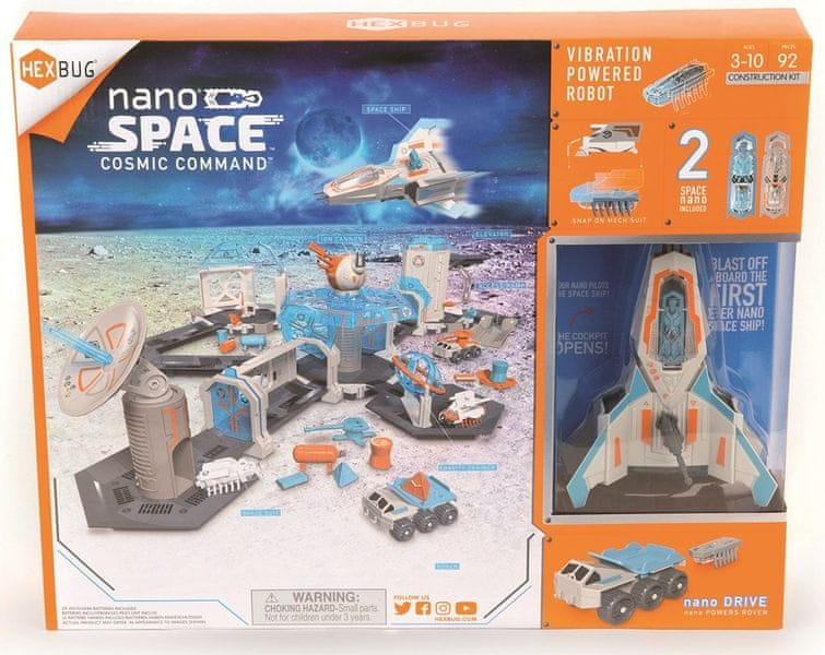 Hexbug Nano Space - Cosmic Command
