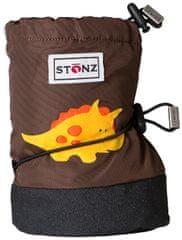 Stonz dziecięce buty kapcie/ wodoodporne/ śniegowce/ Triceratops