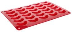 Banquet Forma na rohlíčky silikonová CULINARIA červená