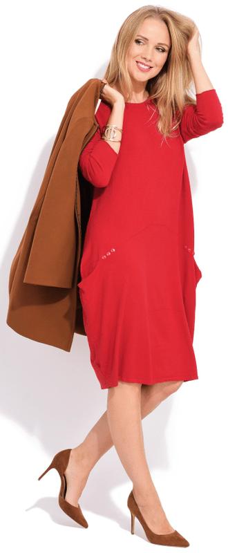 1 - FILLE DU COUTURIER dámské šaty Daniela 36 červená ... c971bbc7714