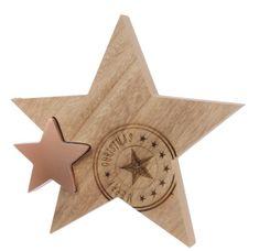 Kaemingk Vánoční dekorace hvězda s přáním