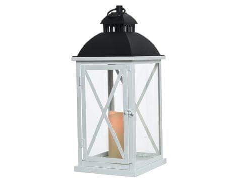 Kaemingk lampion dekoracyjny, biały