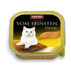 Animonda Vom Feinsten Classic paštika pro kočky drůbež+telecí 100g