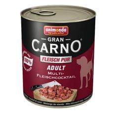 Animonda Grancarno Adult konzerva pro psy hovězí+srdce 400g