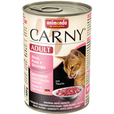 Animonda Carny konzerva pro kočky krůta+ráčci 400g
