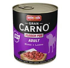 Animonda Grancarno Adult konzerva pro psy hovězí+jehněčí 400g