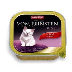 Animonda Vom Feinsten Kitten paštika pro koťata hovězí 100g