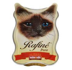 Animonda Rafiné Petit paštika pro kočky se srdcem 85g