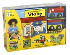 Vlaky - Moje malá knížka