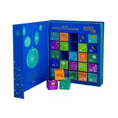 English Tea Shop Adventní kalendář - kniha modrá BIO 25 pyramidek