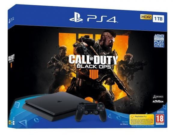 Sony PlayStation 4 Slim - 1TB + Call of Duty: Black Ops 4