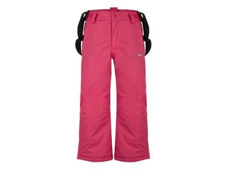 Loap dekliške smučarske hlače Flops, 112/116, roza