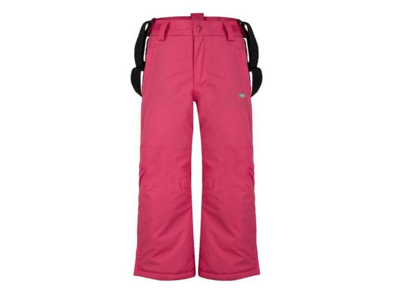 Loap dívčí lyžařské kalhoty Flops 134/140 růžová