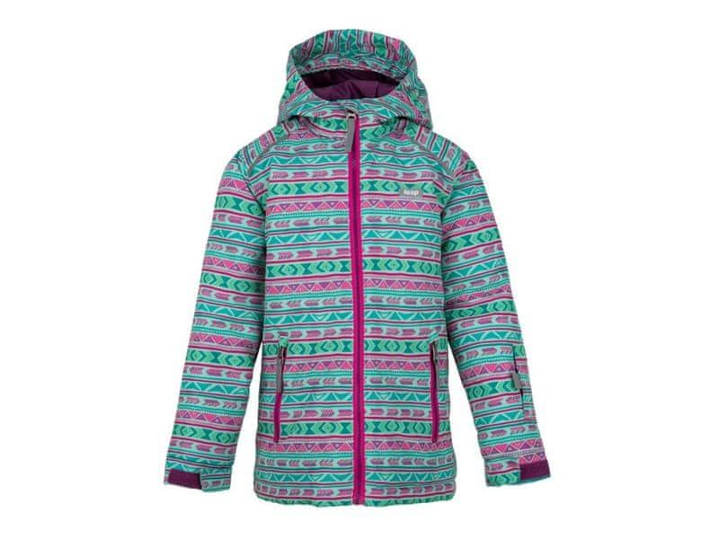Loap dětská lyžařská bunda Centus 134/140 zelená