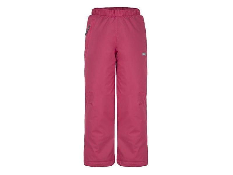 Loap dívčí lyžařské kalhoty Fifo 134/140 růžová