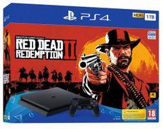 Sony igralna konzola PlayStation 4 Slim 1 TB + igra Red Dead Redemption 2