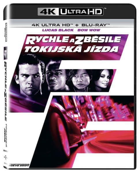 Rychle a zběsile: Tokijská jízda (2 disky) - Blu-ray + 4K ULTRA HD