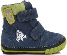D-D-step chlapčenské zimné topánky s raketou