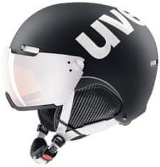 Uvex kask narciarski HLMT 500 Visor Black Mat 52-55