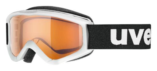 Uvex dziecięce gogle narciarskie SPEEDY PRO white/lasergold (1112)