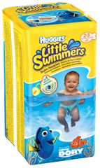 Huggies plienky Little Swimmers 2-3 (3-8 kg) 12 ks