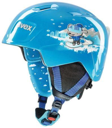 Uvex MANIC blue snow dog 46-51