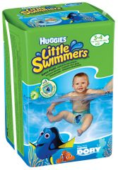 Huggies plavalne plenice Little Swimmers 7-15 kg, 12 kos