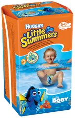 Huggies Plienky Little Swimmers 5-6 (12-18 kg) 11 ks