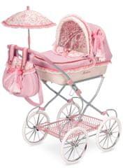 DeCuevas zložljiv otroški voziček za lutko dojenčka z dežnikom Martina V