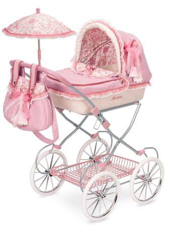 DeCuevas Martina V składany wózek dla lalek z parasolem