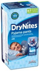 Huggies Dry Nites Medium Boys pelenka - 10 db