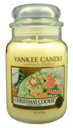 Yankee Candle Classic nagy 623 g Christmas Cookie