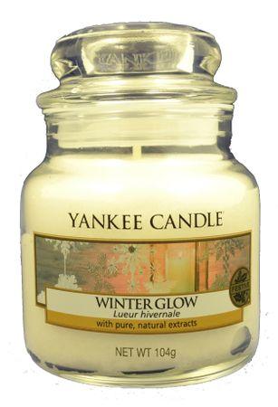 Yankee Candle Classic majhna sveča Winter Glow, 104 g