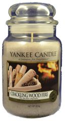 Yankee Candle Classic velký 623 g Crackling Wood Fire