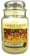 Yankee Candle Classic velika sveča All is Bright, 623 g