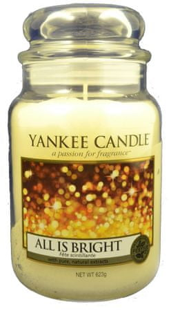 Yankee Candle Classic velký 623 g All is Bright