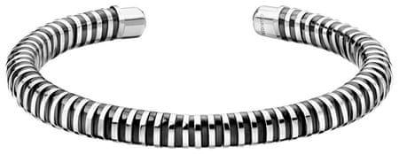 Calvin Klein Stałe otwarte bransoletka Wiosna KJ9FBF2001 (wymiar M - 6,2 x 4,9 cm)