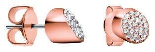 Calvin Klein Vörös arannyal bevont fülbevaló kristályokkal Brilliant KJ8YPE140100