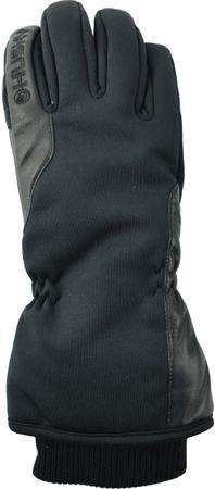 Husky ženske smučarske rokavice Evely, S, črna
