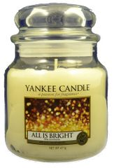 Yankee Candle Classic střední 411 g All is Bright
