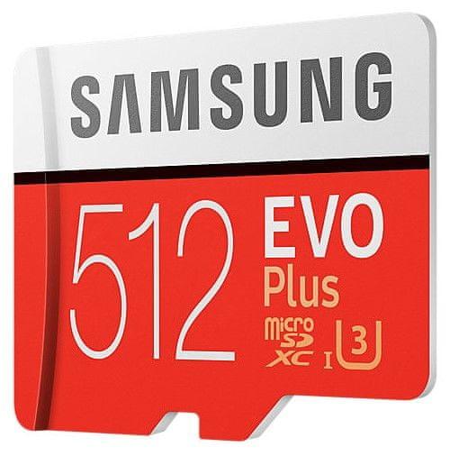 Samsung micro SDXC 512GB EVO Plus + SD adapter (MB-MC512GA/EU)