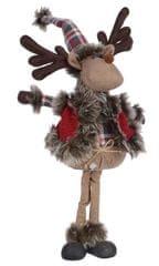 Kaemingk Karácsonyi dekoráció rénszarvas - fiú