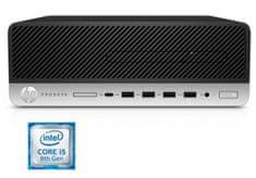 HP namizni računalnik ProDesk 600 G4 SFF i5-8500/8GB/SSD256GB/W10P (4TS45AW#BED)